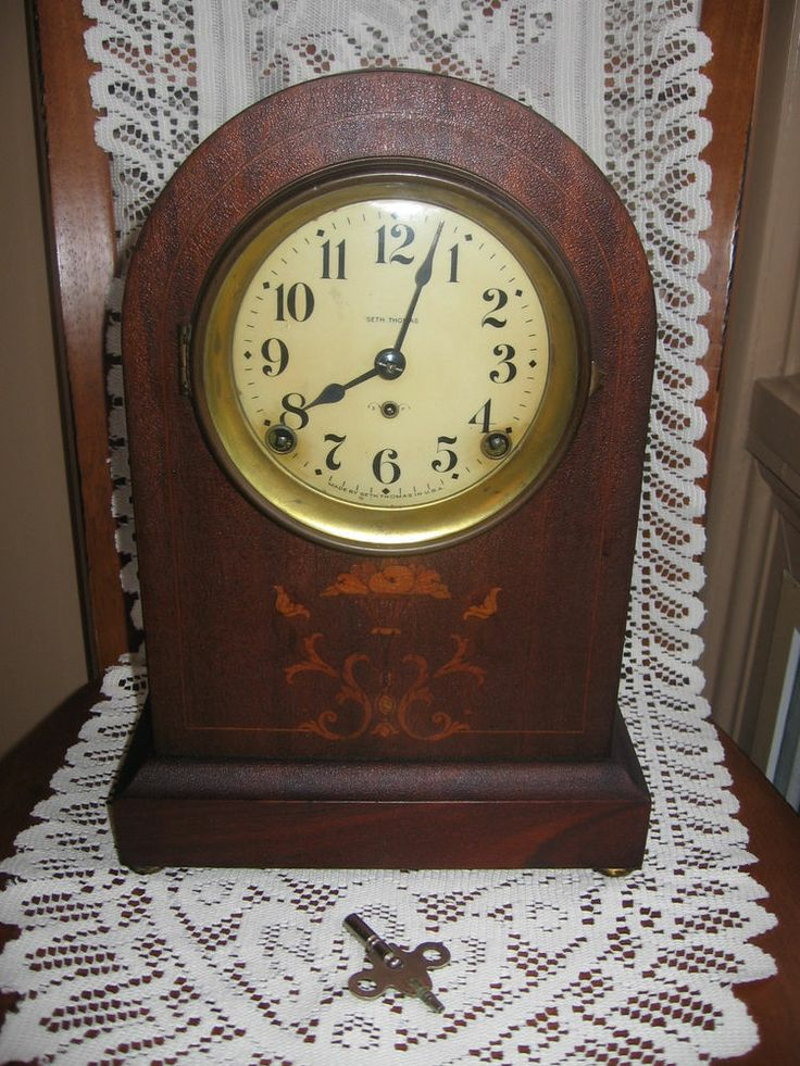 34 Best E N Welch Clocks Images On Pinterest Antique