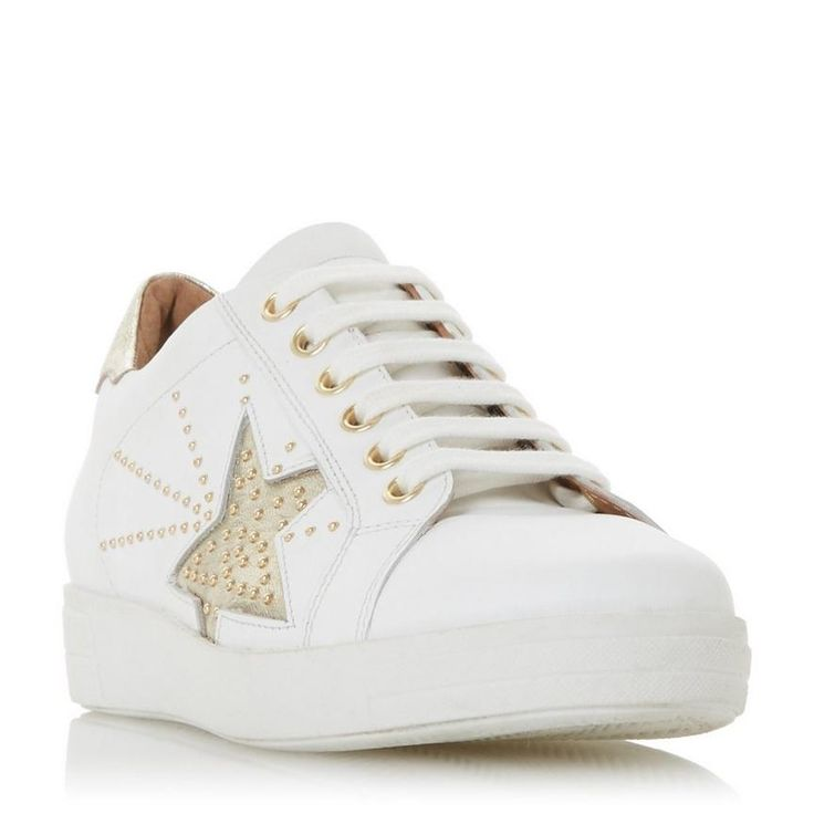 Dune London   Lace up trainers