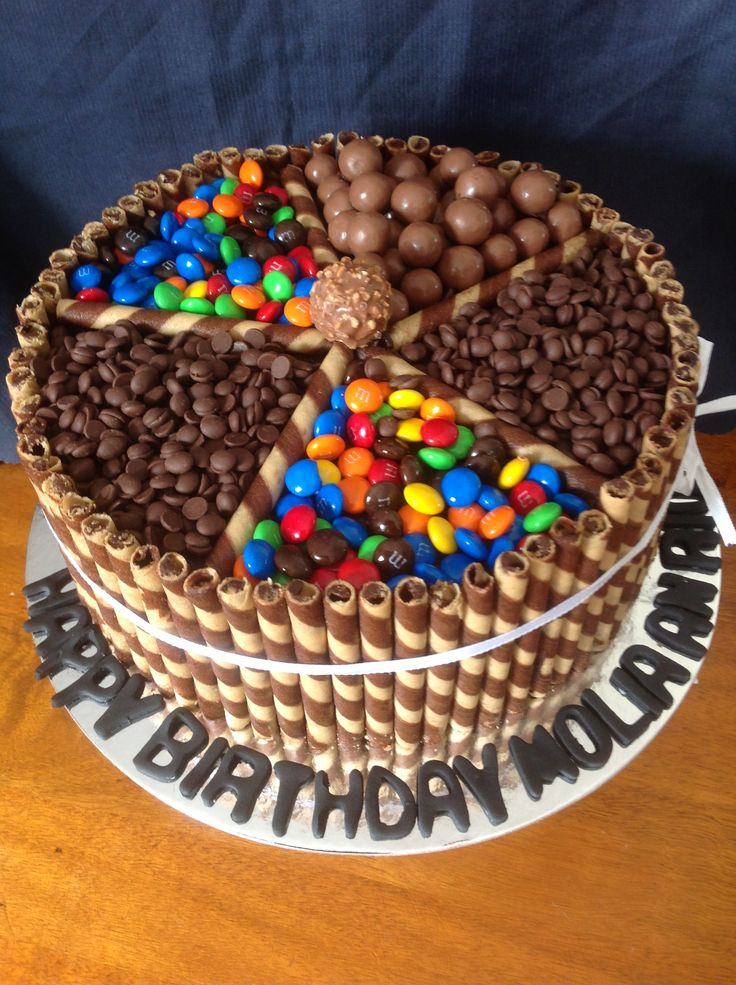 CHOCOLATE GALORE CAKE.. :D #ALL THE CHOCOLATE YOU COULD POSSIBLY NEED.. ;D