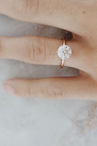 24 Cutest Rose Gold Engagement Rings That You've Ever Seen - Reverie