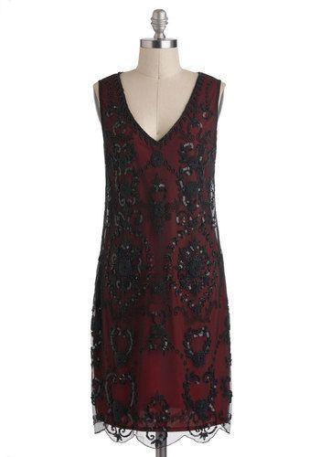 1920 Vintage Dresses Plus Size | 1920′s Beaded Dress at Unique Vintage and An Era of Romance Dress at ...