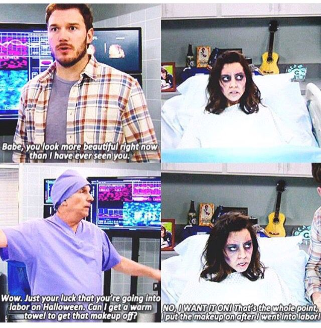 Andy Dwyer and April Ludgate. Parks and Recreation.