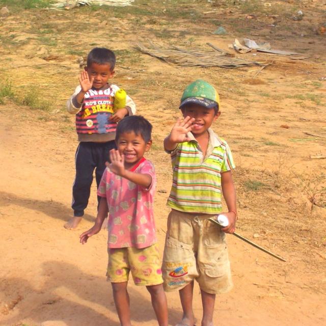 Kids in Laos