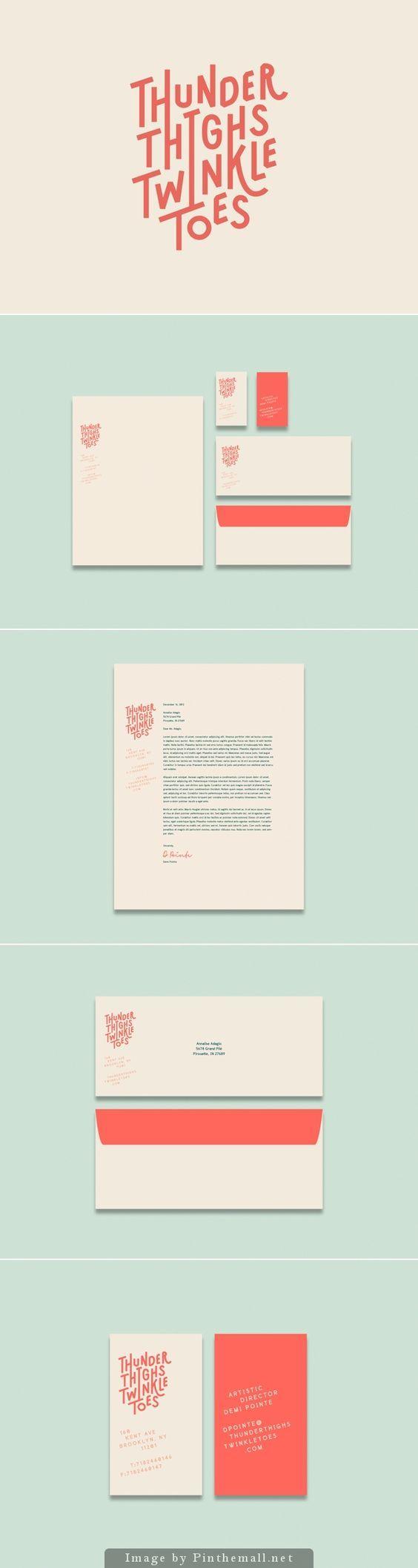Thunder Thighs Twinkle Toes Branding   Fivestar Branding – Design and Branding Agency & Inspiration Gallery