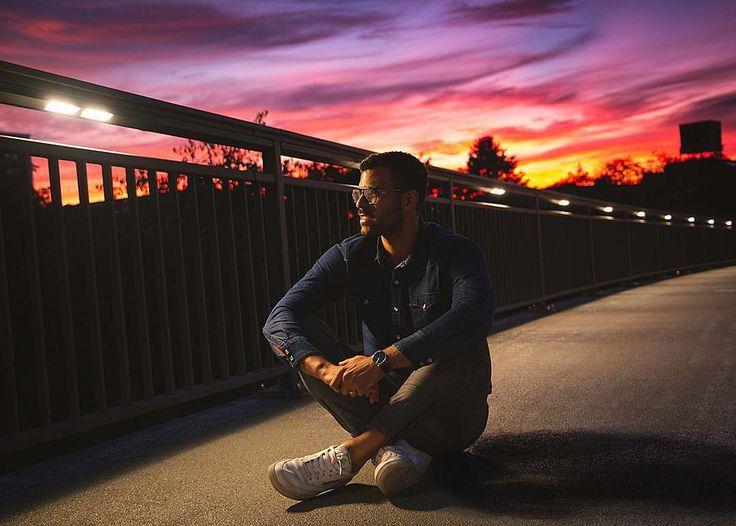 lowlight porträt sonnenuntergang sunsetlover brücke porträtfotografie lowlight lowlights spontan fotografie lichter porträt instaphoto …