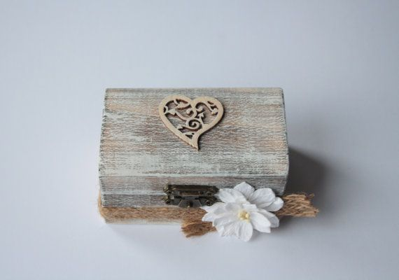 Ring Bearer Box by UniqueItemsMBA on Etsy