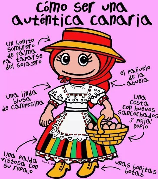 #Canaria de #Romería