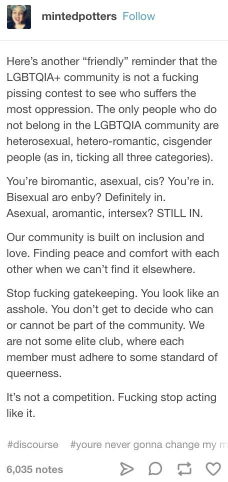 Bless this person and their words  this needs to be said louder for the peOPLE IN THE BACK