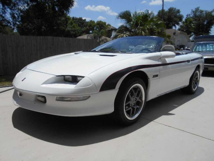 4th gen 1994 Z28 Chevrolet Camaro convertible For Sale