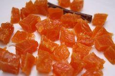 Цукаты из тыквы - Рецепти