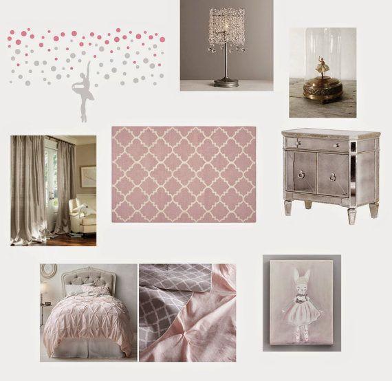 Ballerina Bedroom, Polka Dot Wall Decals And Bedroom Themes On Pinterest