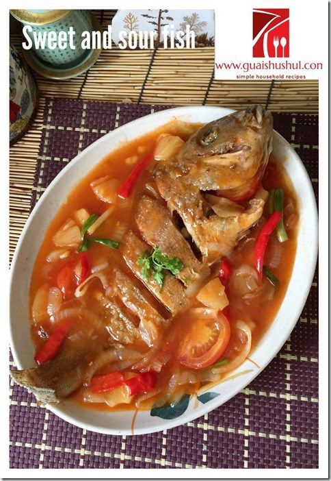 Chinese Comfort Food Series : Sweet and Sour Fish (酸甜鱼)    #guaishushu #kenneth_goh #fish