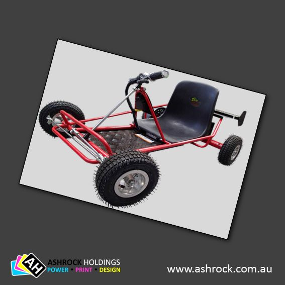 Solar Racer 350 Kids Electric Go-kart #ashrock #zuma #solar #racer #electric #kids #solarpower