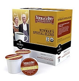 Newman's Own Special Blend  K-Cups Coffee for Keurig Home Brewers!!