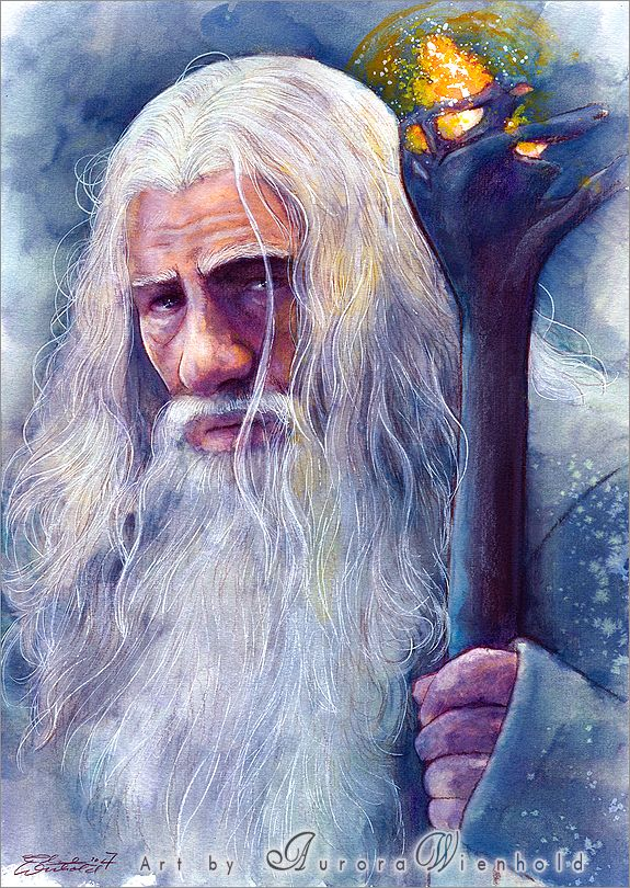 Гэндальф  Not all those who wander are lost - Gandalf by AuroraWienhold on DeviantArt