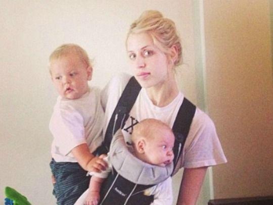 Celebaby: Peaches Geldof Juggles Motherhood