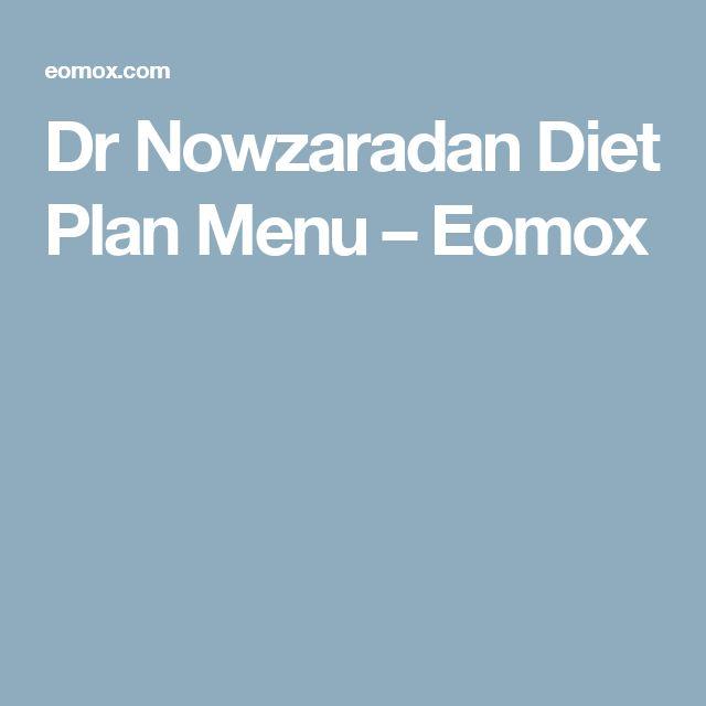 Dr Nowzaradan Diet Plan Menu – Eomox