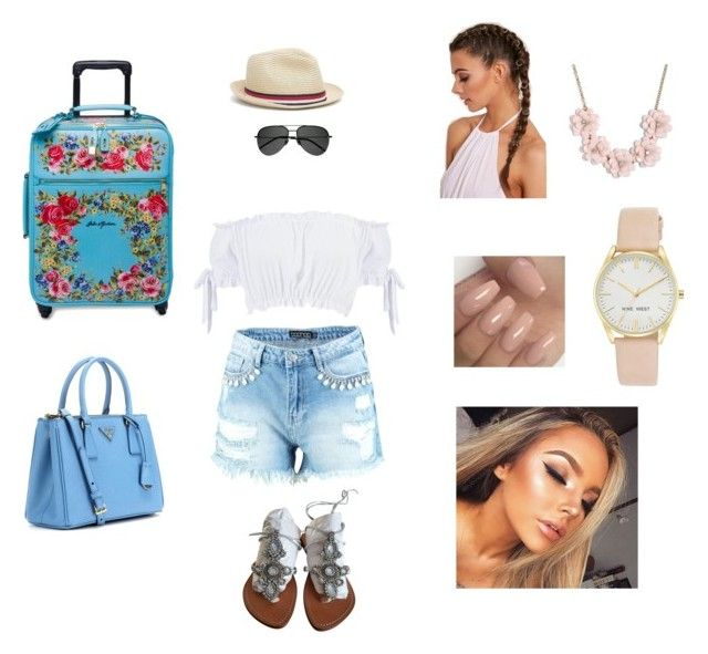 """Untitled #54"" by elmiller95 on Polyvore featuring Boohoo, Dolce&Gabbana, Tommy Hilfiger, Prada, Yves Saint Laurent, J.Crew and Nine West"