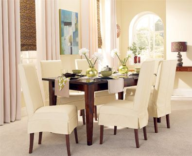 19 best images about Dining Chair Slipcover on Pinterest