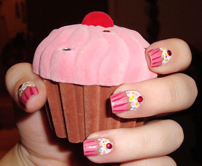 Cupcake Nails! ♥