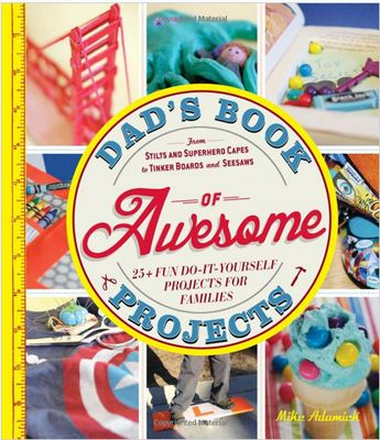 Dads Book of Awesome Projects. Love this book (and not just for dads).