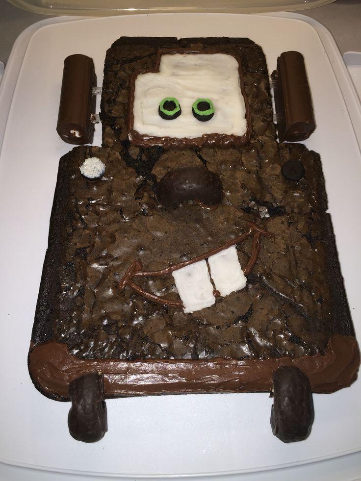 Tow Mater Cake DIY -
