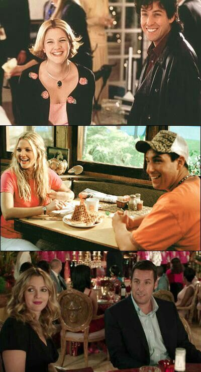 Find This Pin And More On Cine Y Series Adam Sandler Drew Barrymore In The Wedding Singer
