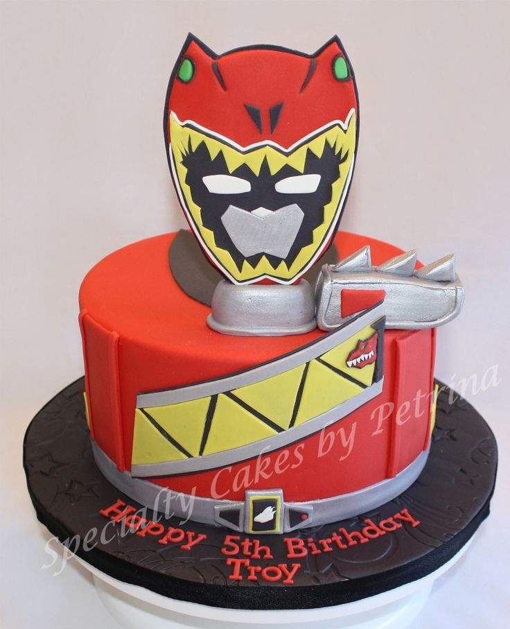 Power Rangers Birthday Cake Publix