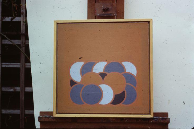 2_69 by Ian Fraser 1969 oil on canvas