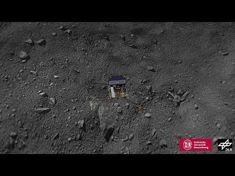 Reconstructing Philae's flight - YouTube