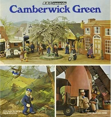 Camberwick Green BBC Records LP 1970s which featured two stories narrated by Brian Cant and a selection of songs