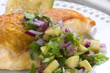 Feijoa salsa with coriander – Recipes – Bite