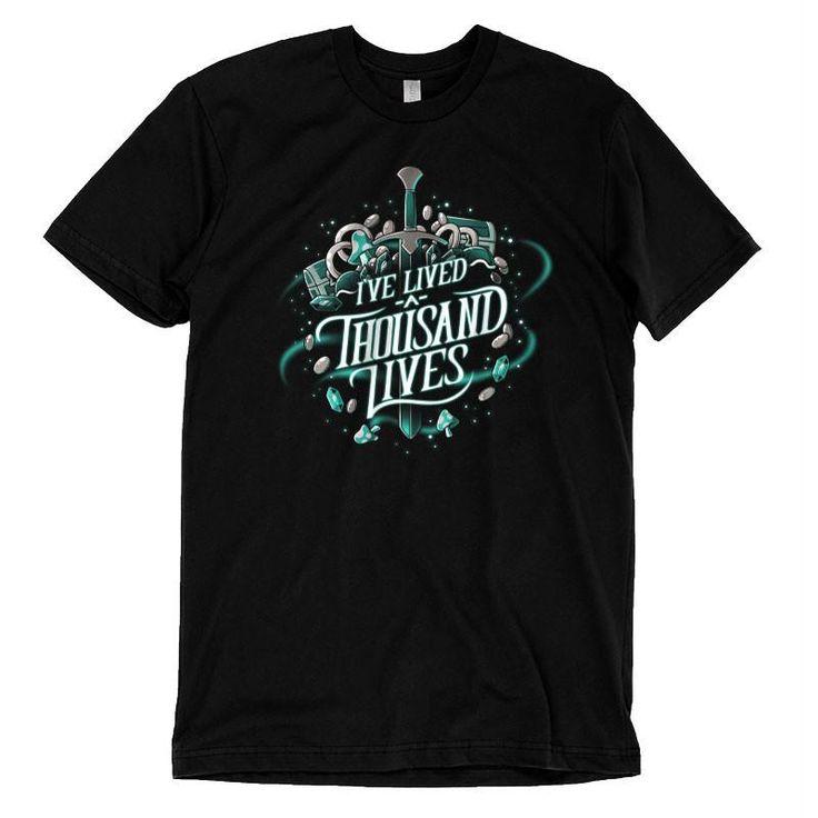 I've Lived A Thousand Lives t-shirt TeeTurtle (125,-)
