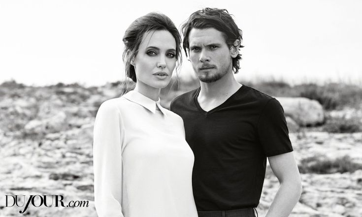 Angelina Jolie & Jack OConnell Cover DuJour Winter 2014 Issue image Jack OConnell Angelina Jolie DuJour Photo Shoot 002 800x480