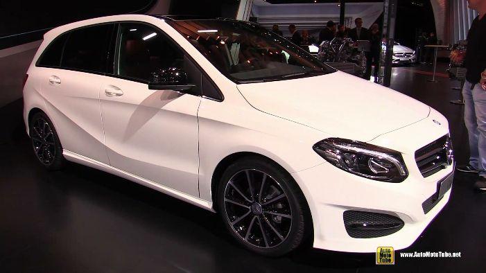2015 Mercedes-Benz B-Class B180 CDi Diesel at 2014 Paris Auto Show