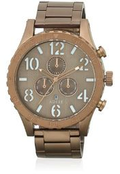 Adexe 006267-Brown/White Analog Watch Online Shopping Store