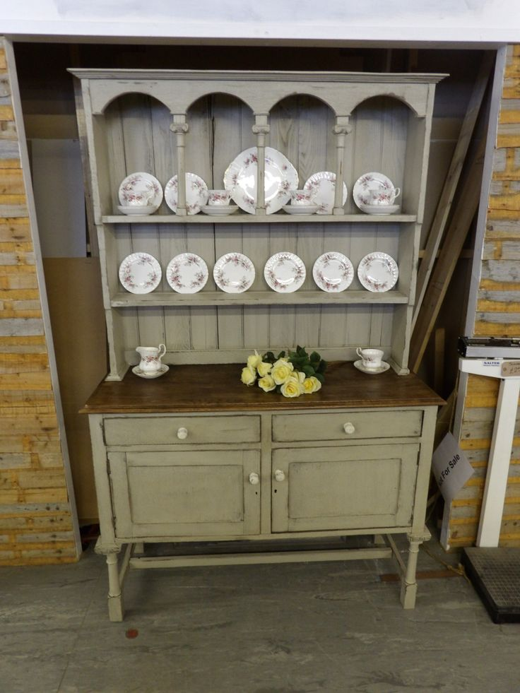 """Very vintage dresser.Painted in Craig and Rose """"Shagreen"""" £245"""