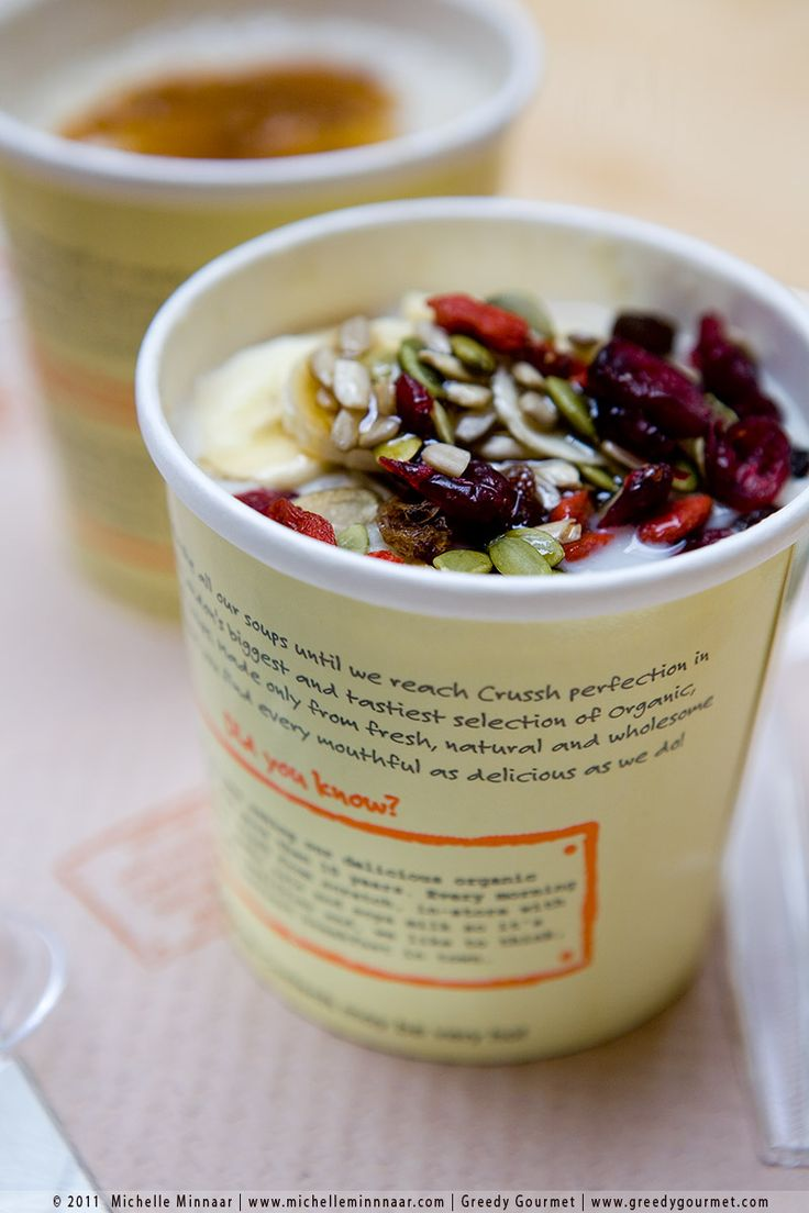 Crussh Juice Bars - my favourite health food takeaway