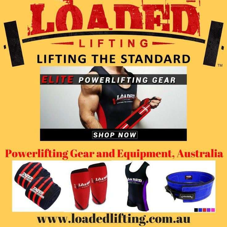 Shop powerlifting gear and equipment - Inzer, Slingshot, Adidas along with a host of premium Loaded Lifting products specially designed for powerlifters.