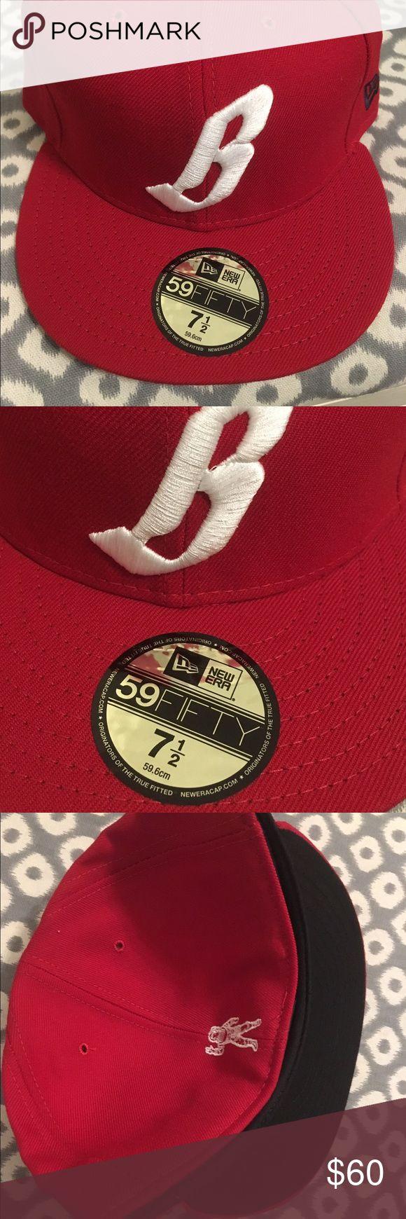 New Era 5950 Billionaire Boys Club 7 1/2 hat cap New Era 5950 59FIFTY BBC Billionaire Boys Club fitted. New with sticker. Size 7 1/2. Billionaire Boys Club Accessories Hats