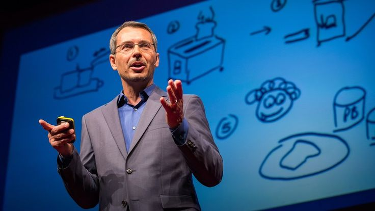 Systemic thinking explained through sketching the process of making toast. A great TED talk to watch to understand the basics of design thinking.