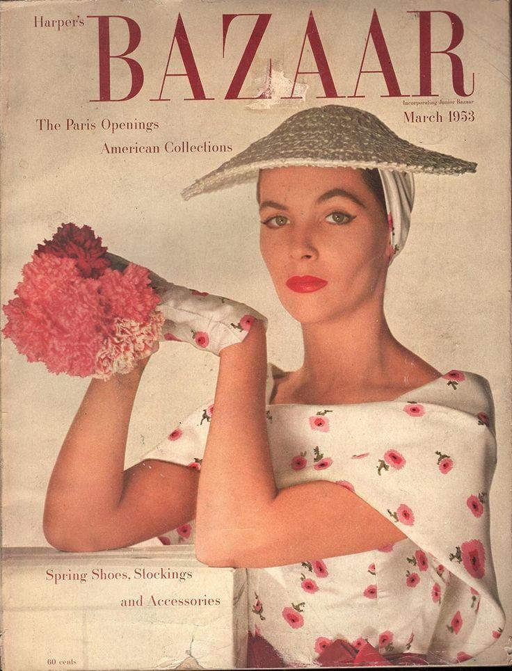 Harpers Bazaar March 1953 - EphemeraForever.com