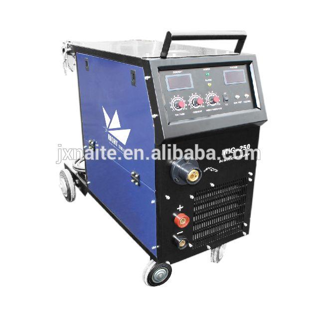 High quality 3 phase 380V mig 250 amps dc inverter welding machine