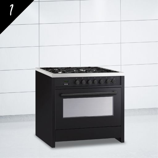 VOGUE Freestanding Oven 90cm with Gas Cooktop | Kitchen ...