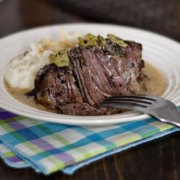 Crock-Pot Rancher's Roast Beef   Recipe