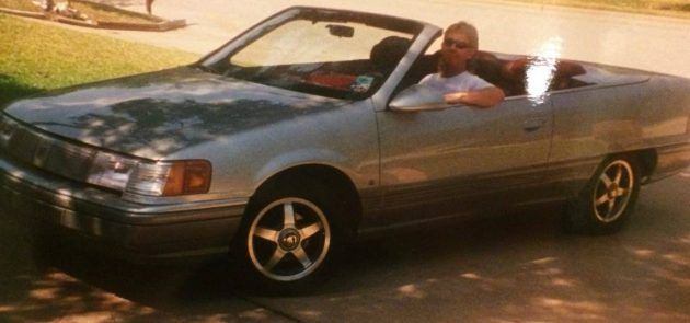 Dad's Wild Side: 1989 Mercury Sable Concept Car #USA #American, #Mercury, #Oddballs, #Survivors - http://barnfinds.com/dads-wild-side-1989-mercury-sable-concept-car/