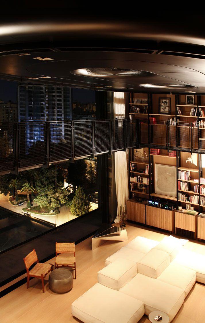 The N.B.K. Residence in Beirut, Lebanon by Bernard Khoury/DW5