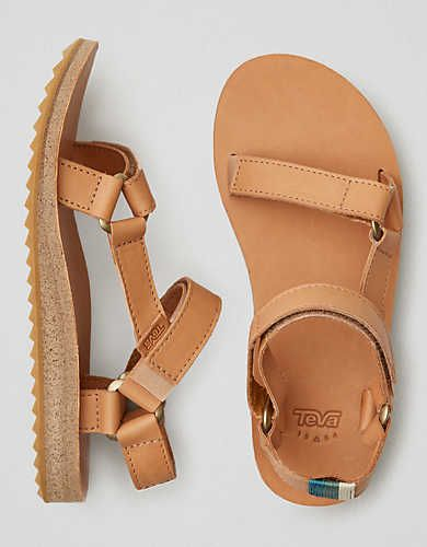 Teva Original Universal Leather Sandal, Tan | American Eagle Outfitters