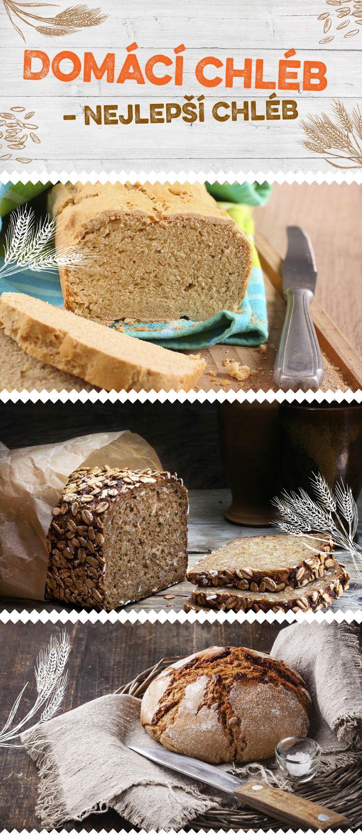 Připravte si domácí chléb