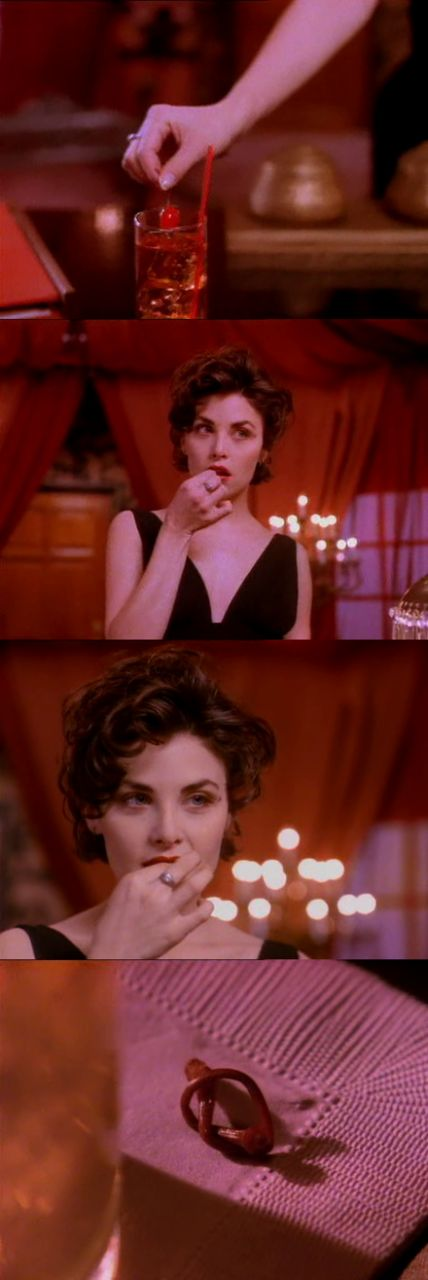 """""""Give me one reason why I shouldn't airmail you back to civilization."""" -Twin Peaks"""